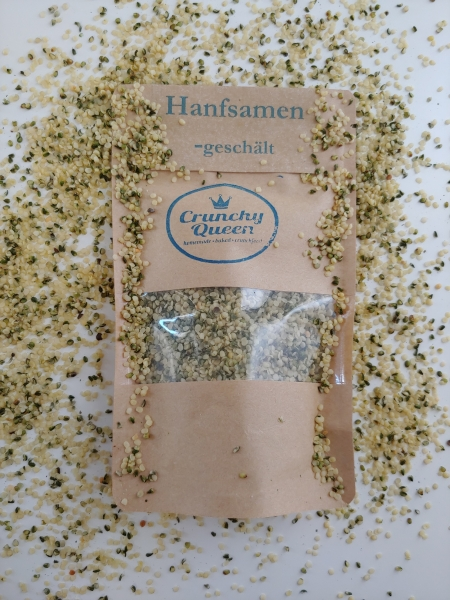 Hemp seeds peeled 80g